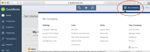 QuickBooks Online (QBO) accounting software