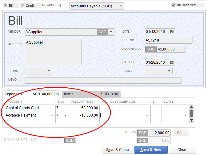how to add new supllier on quickbook